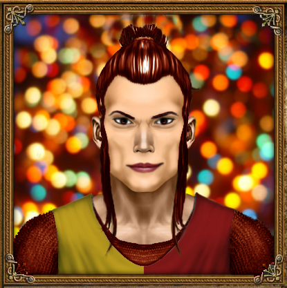 Skemmos hydranos fantasy avatar character portrait multicolor colorful fireworks