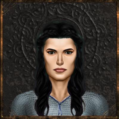 Khoan hydranos fantasy avatar nation portrait black background