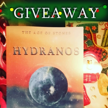 Xmas Giveaway Hydranos Greek fantasy book The Age of Stones by Constantina Maud