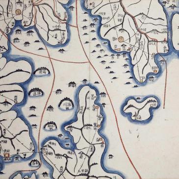 Daedongyeojido map - Gyujanggak