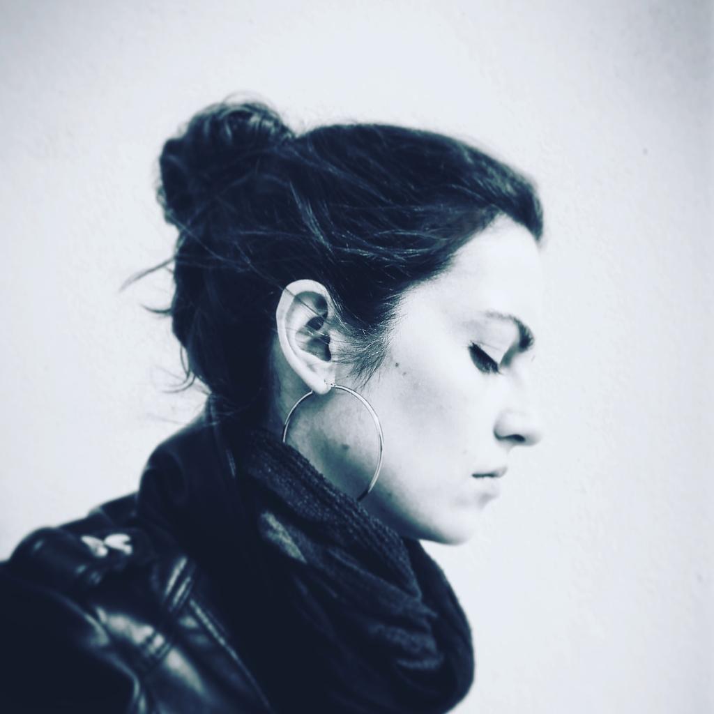constantina maud greek fantasy author black white photo