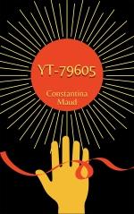 dystopian book cover black red sun hand thread