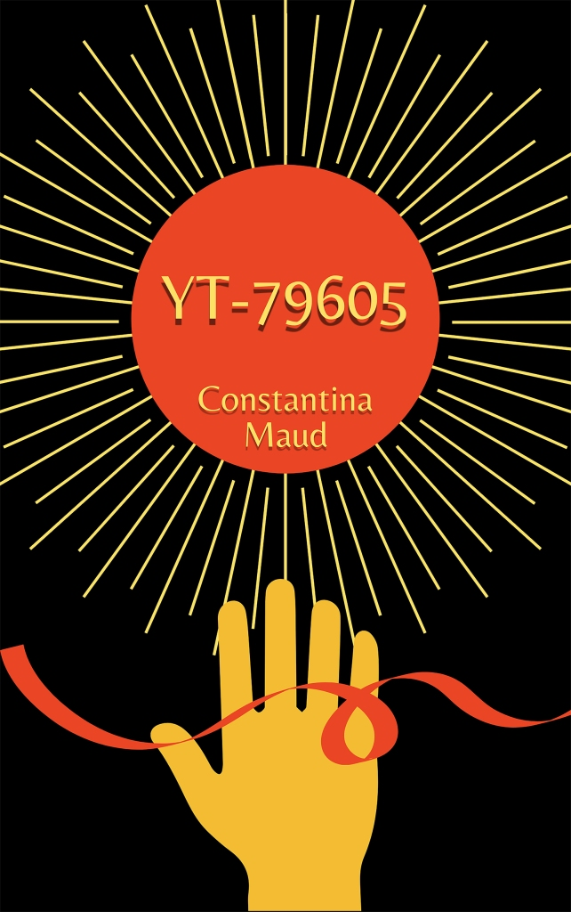 red yellow black hand sun dystopian book cover