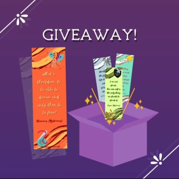 greek fantasy novel Hydranos The Age of Stones character quote bookmarks giveaway