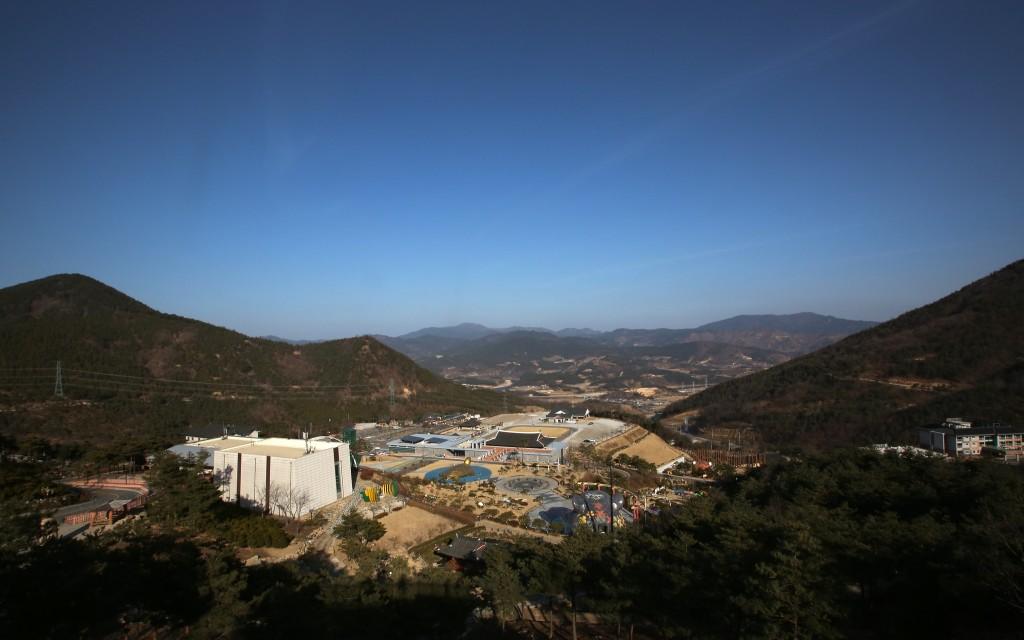 Sancheong Gun Mountain