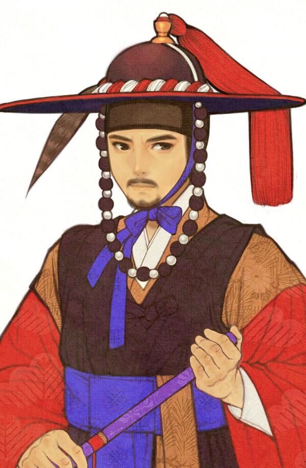 saddo-korean-magistrate-traditional-costume-art