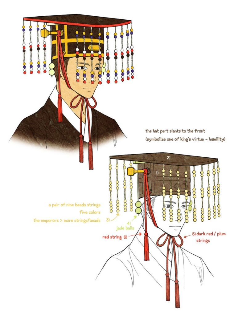 myeonryugwan-king-joseon-korean-gat-hat-art