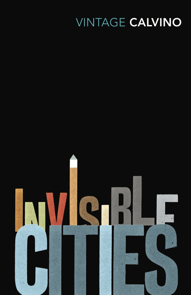 Invisible Cities by Italo Calvino Vintage Classics book cover thumbnail