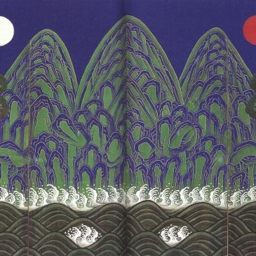 Irworobongdo-joseon-painting-detail